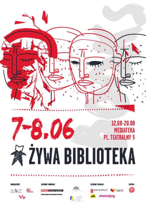 Żywa Biblioteka Wrocław 2019 plakat
